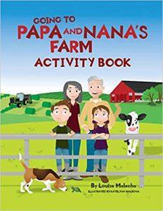 Going to Papa and Nana's Farm Activity Book